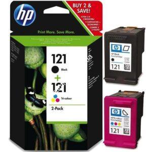 Картридж струйный HP 121 чб/цвет